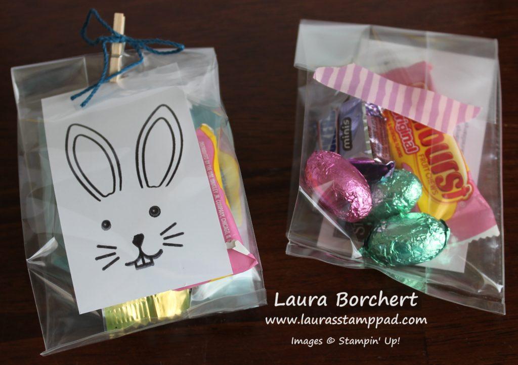 Bunny Bags, www.LaurasStampPad.com