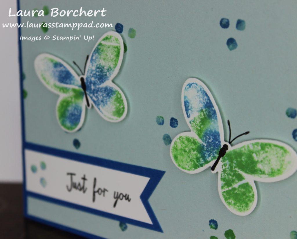 Butterflies Baby Wipe, www.LaurasStampPad.com