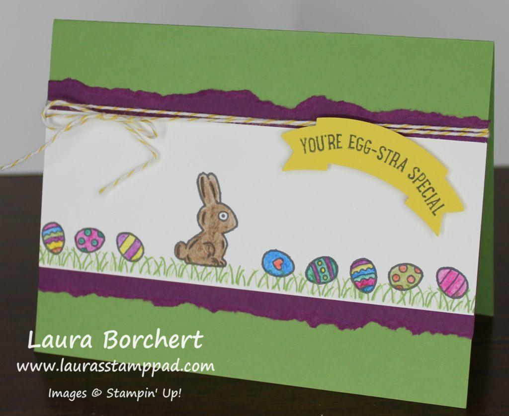 Egg-Stra Special Easter, www.LaurasStampPad.com