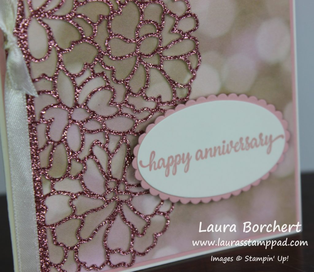 Floral Lace, www.LaurasStampPad.com