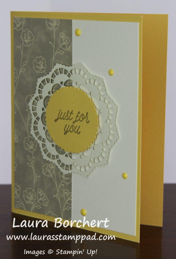 Lace Doilies, www.LaurasStampPad.com