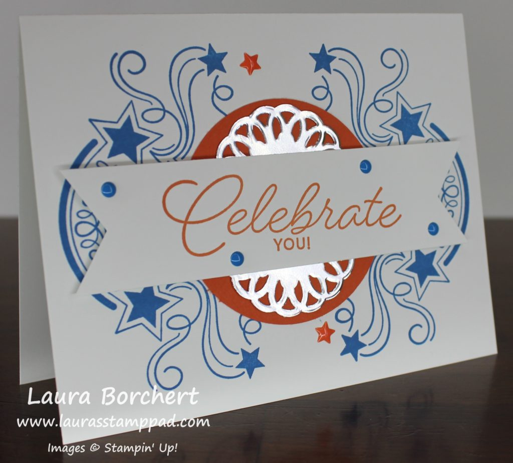 Simple Celebrate You, www.LaurasStampPad.com