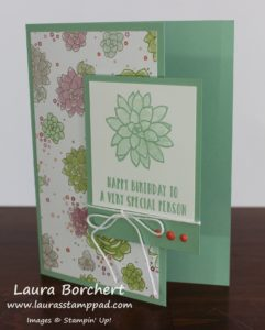 Very Special Person, www.LaurasStampPad.com