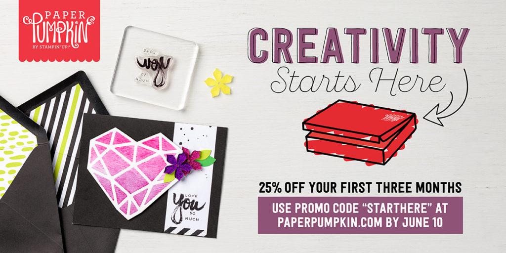 25% Off Paper Pumpkin, www.LaurasStampPad.com