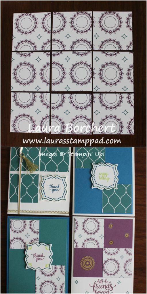2x2 Squares, www.LaurasStampPad.com