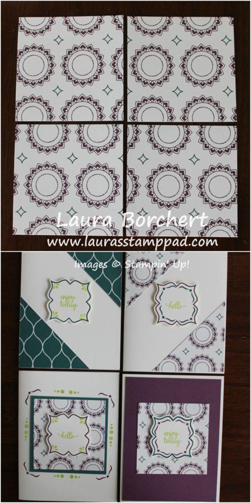 3x3 Squares, www.LaurasStampPad.com