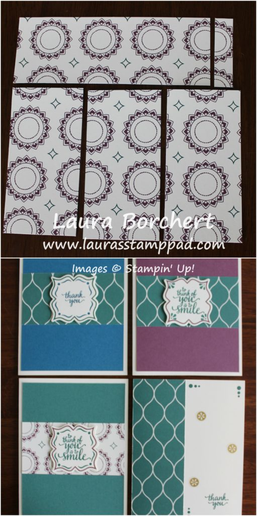 One Sheet Wonder, www.LaurasStampPad.com
