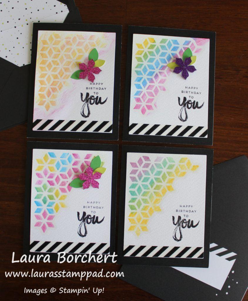 Acrylic Flowers, www.LaurasStampPad.com