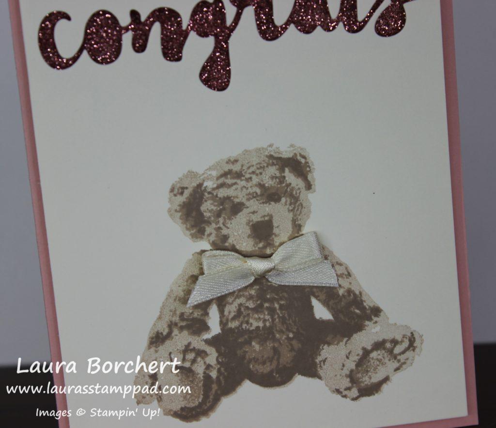 Baby Bear, www.LaurasStampPad.com