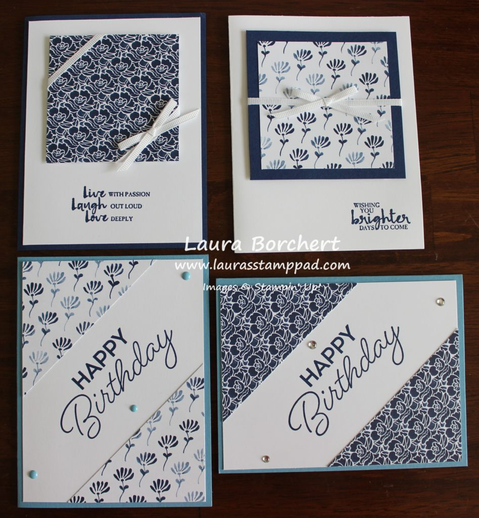 Floral Boutique Designer Series Paper, www.LaurasStamppad.com