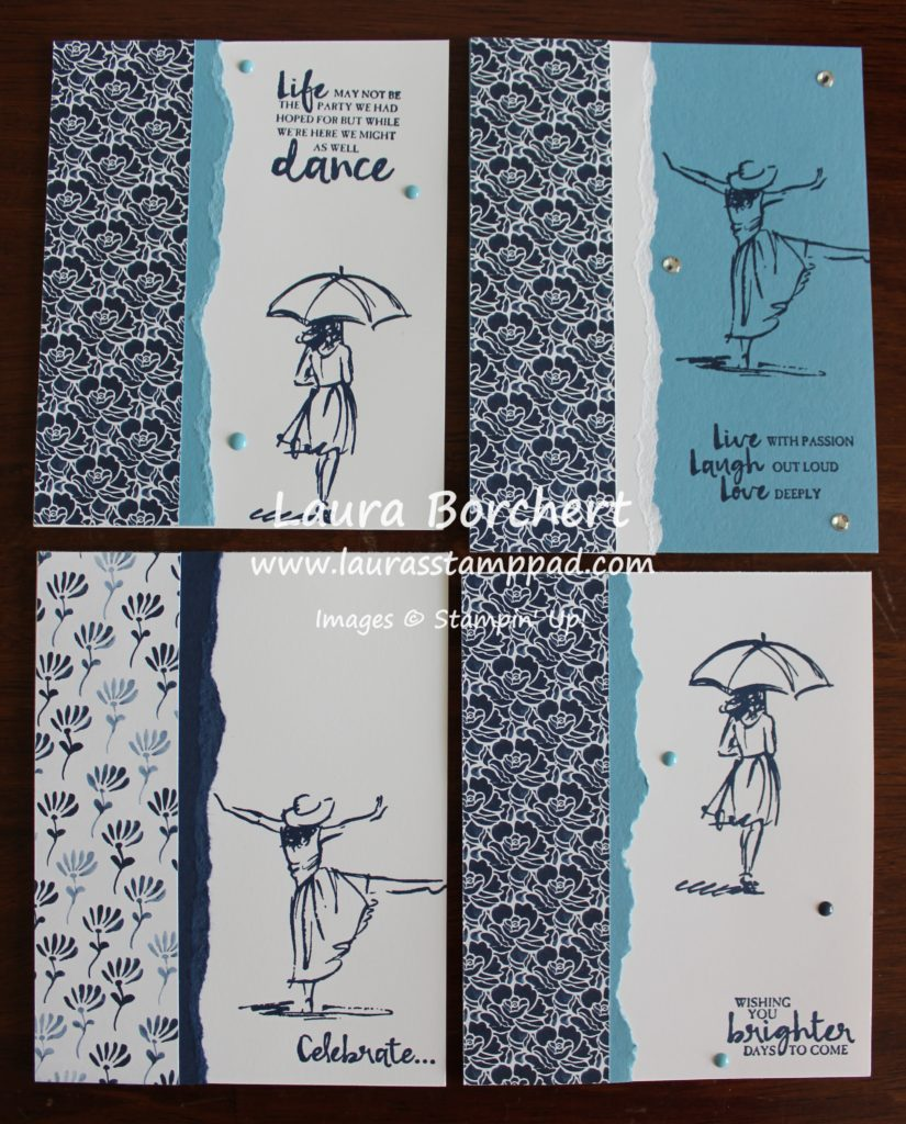 Dancing Girl, www.LaurasStampPad.com