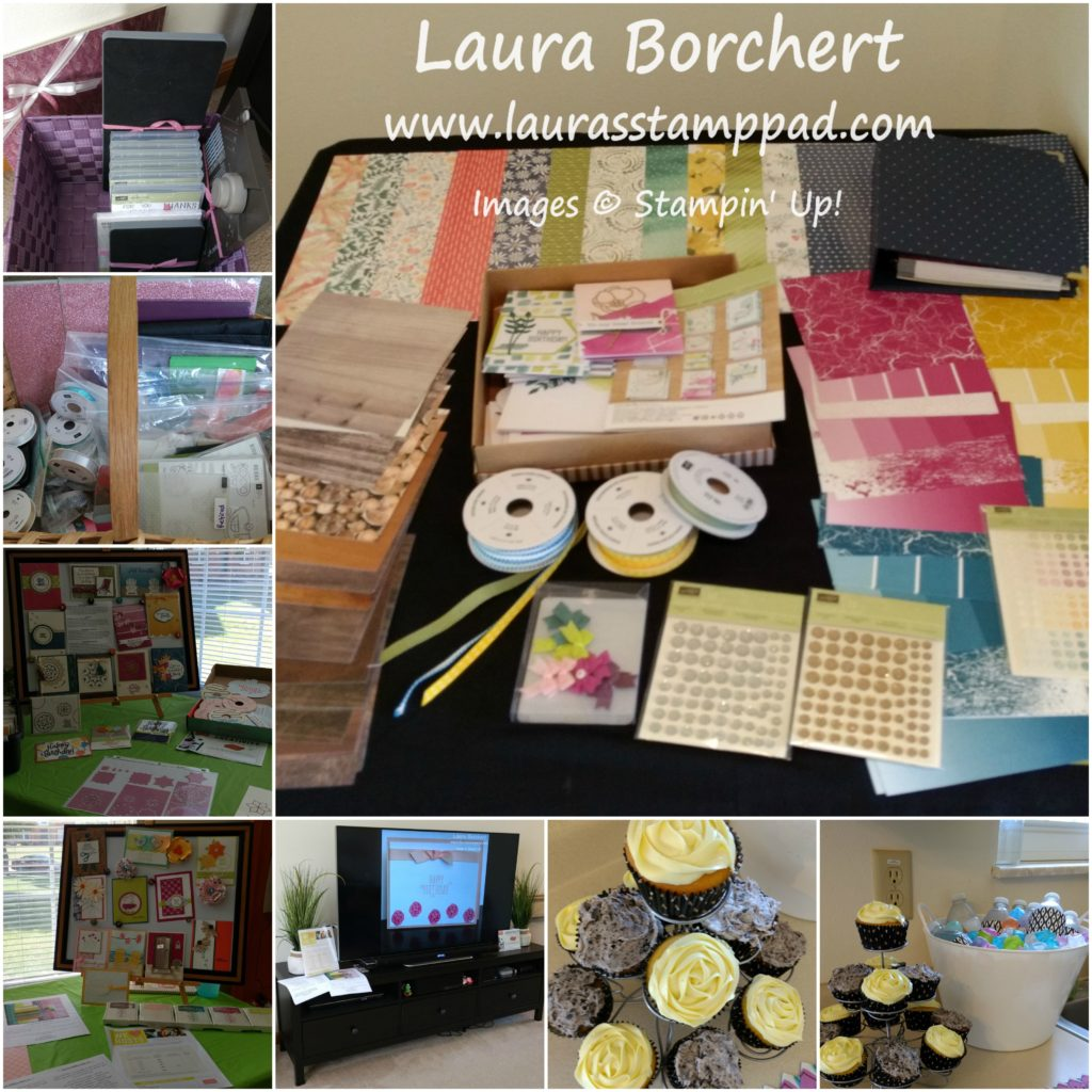 Much Fun Girls Night, www.LaurasStampPad.com