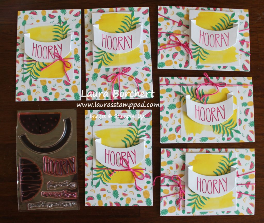 Hooray Cards, www.LaurasStampPad.com