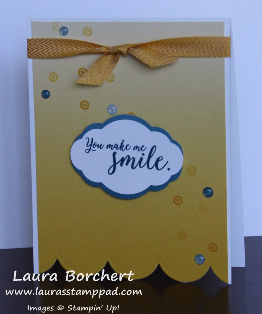 You Are A Ray of Sunshine, www.LaurasStampPad.com