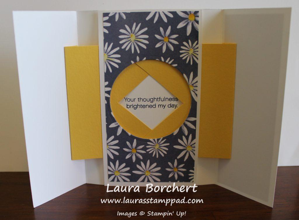 Open Shutter Card, www.LaurasStampPad.com
