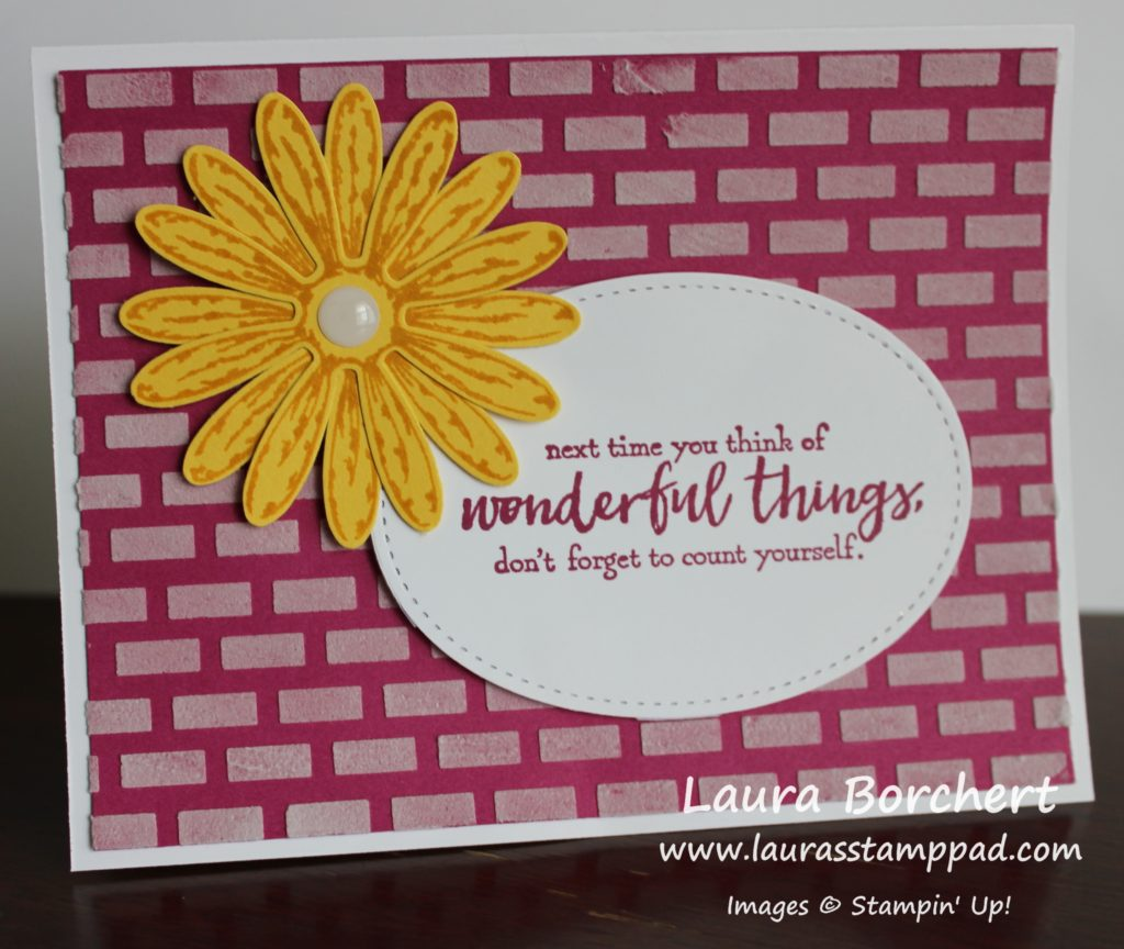 Use Embossing Paste, www.LaurasStampPad.com