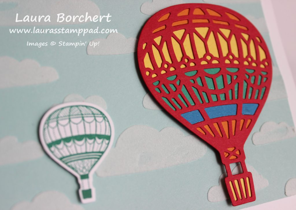 Hot Air Balloons, www.LaurasStampPad.com