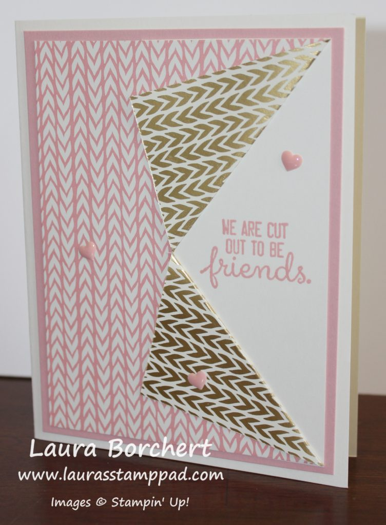 Pink Friends, www.LaurasStampPad.com