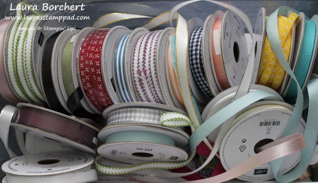 My Ribbon Share, www.LaurasStampPad.com