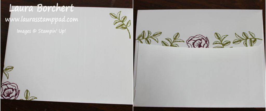 Rose Envelope, www.LaurasStampPad.com
