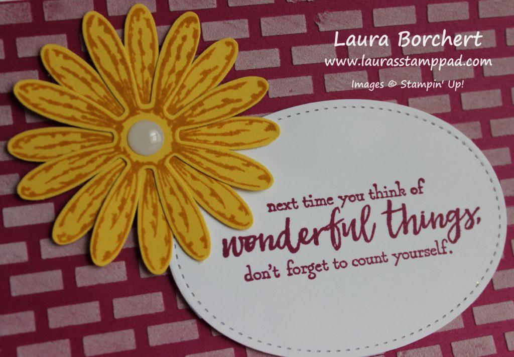 Wonderful Things, www.LaurasStampPad.com