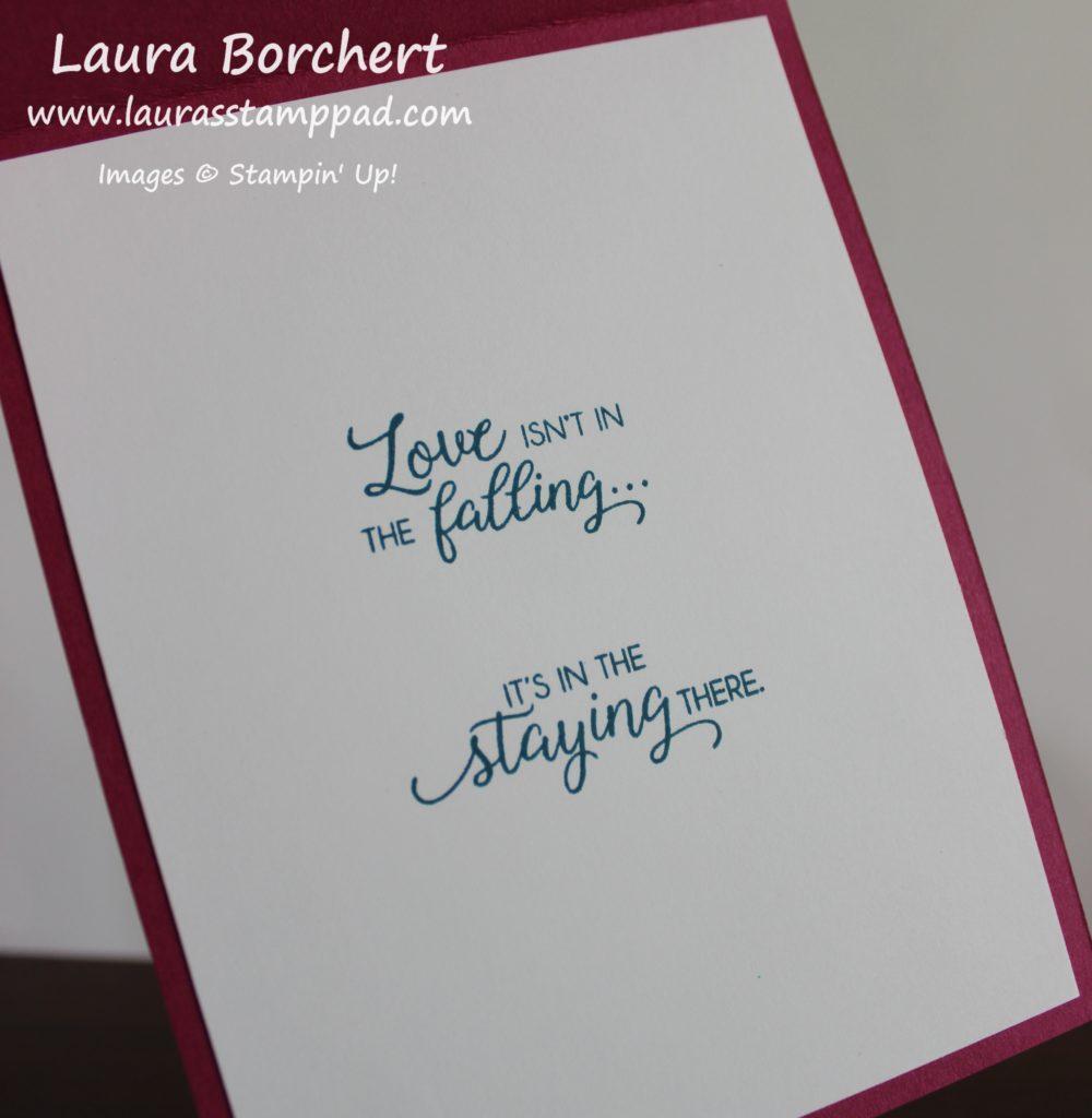 Anniversary Card Inside, www.LaurasStampPad.com