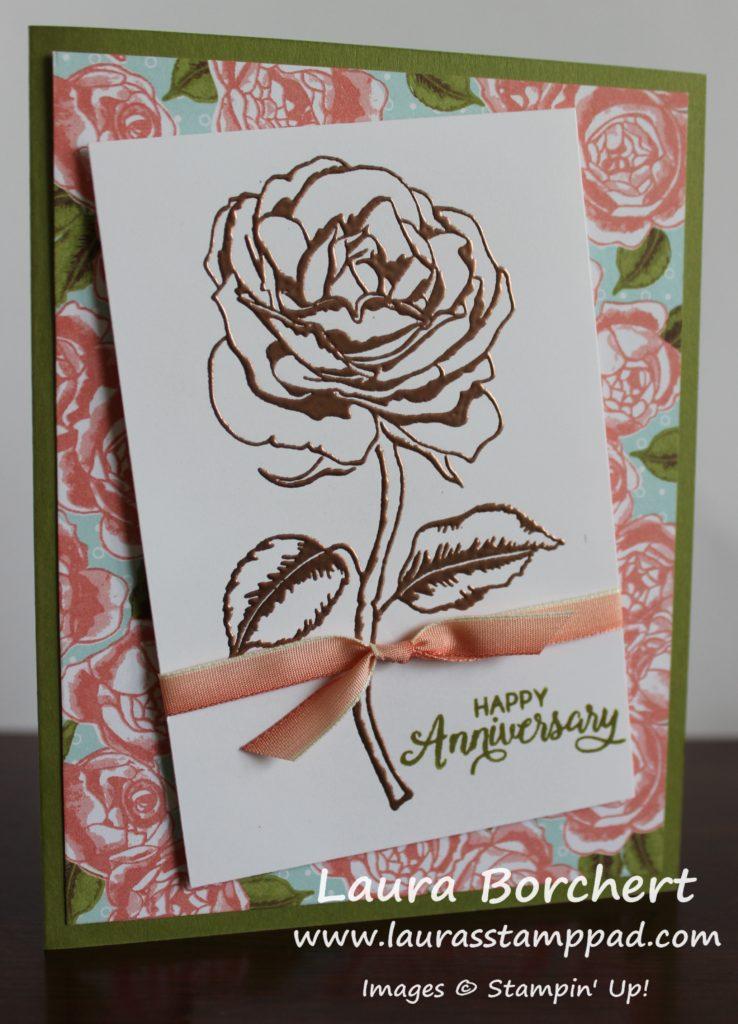 Copper Roses, www.LaurasStampPad.com