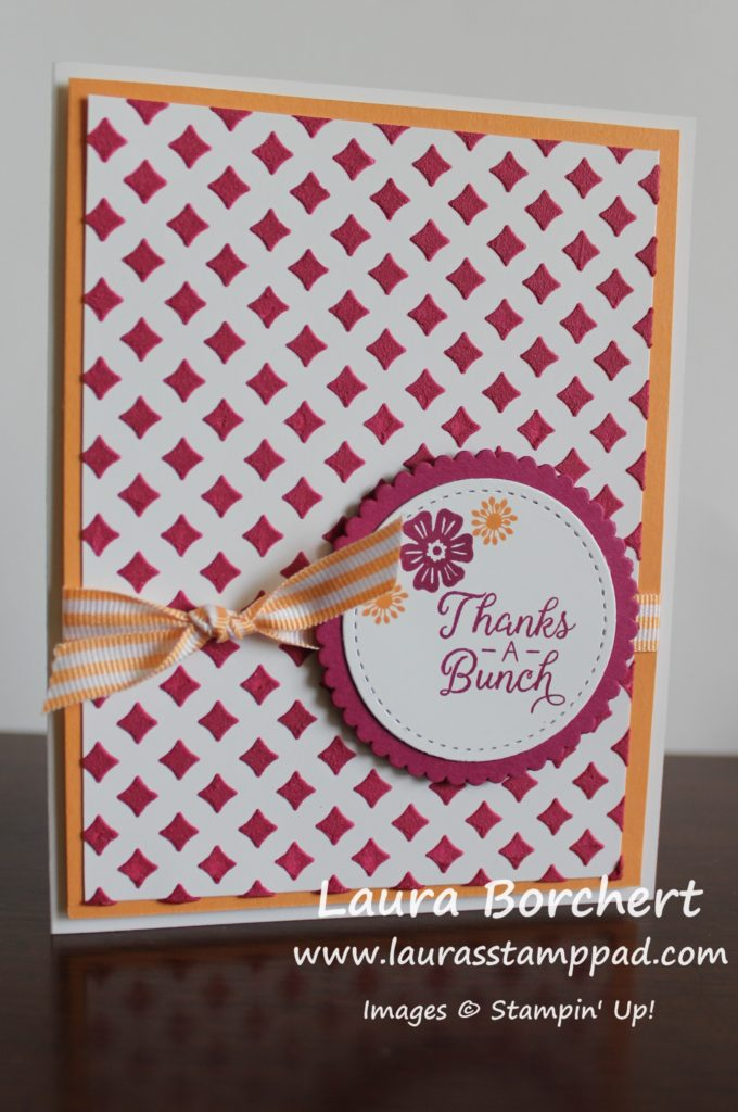 Berry Burst Embossing Paste, www.LaurasStampPad.com