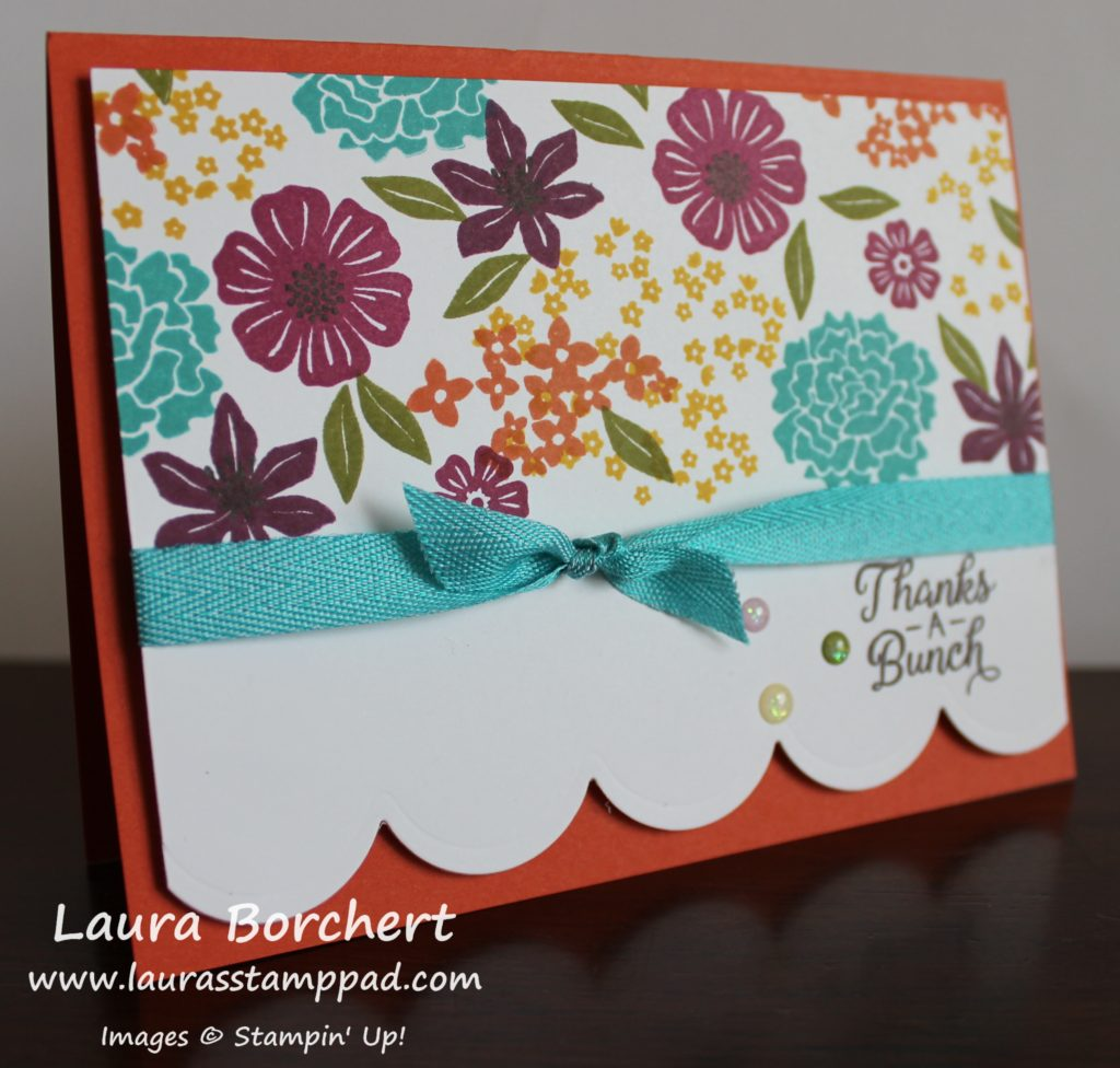 Make Your Own Designer Paper, www.LaurasStampPad.com