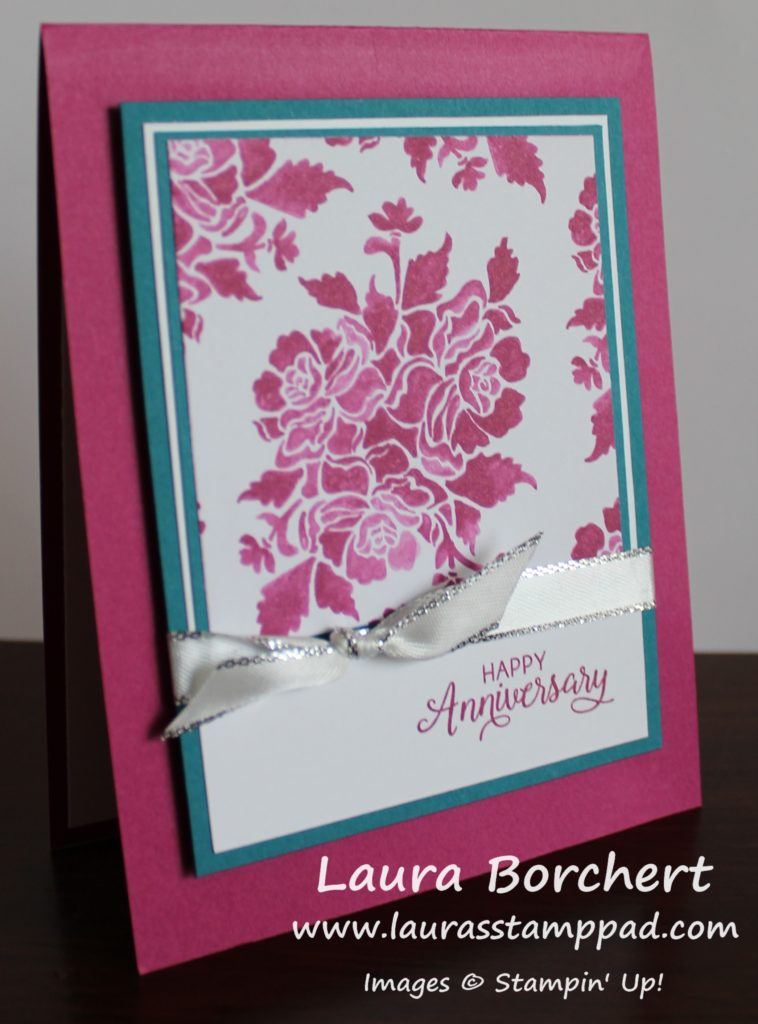Fresh Florals One Sheet Wonder, www.LaurasStampPad.com