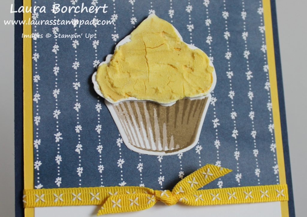 Sweet Cupcake Stamp Set, www.LaurasStampPad.com