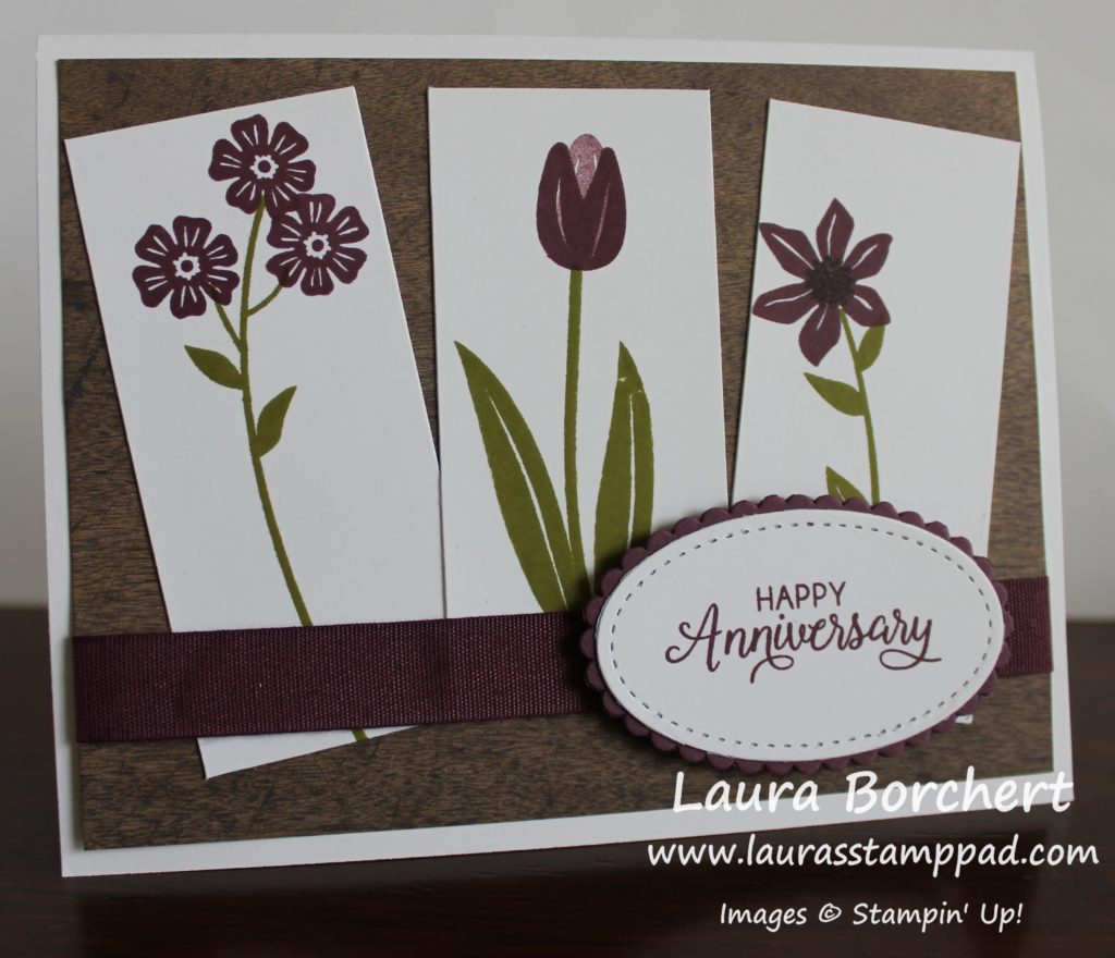 Flowers Are Better In Odd Numbers, www.LaurasStampPad.com