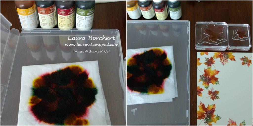 Baby Wipe Ink Pad, www.LaurasStampPad.com