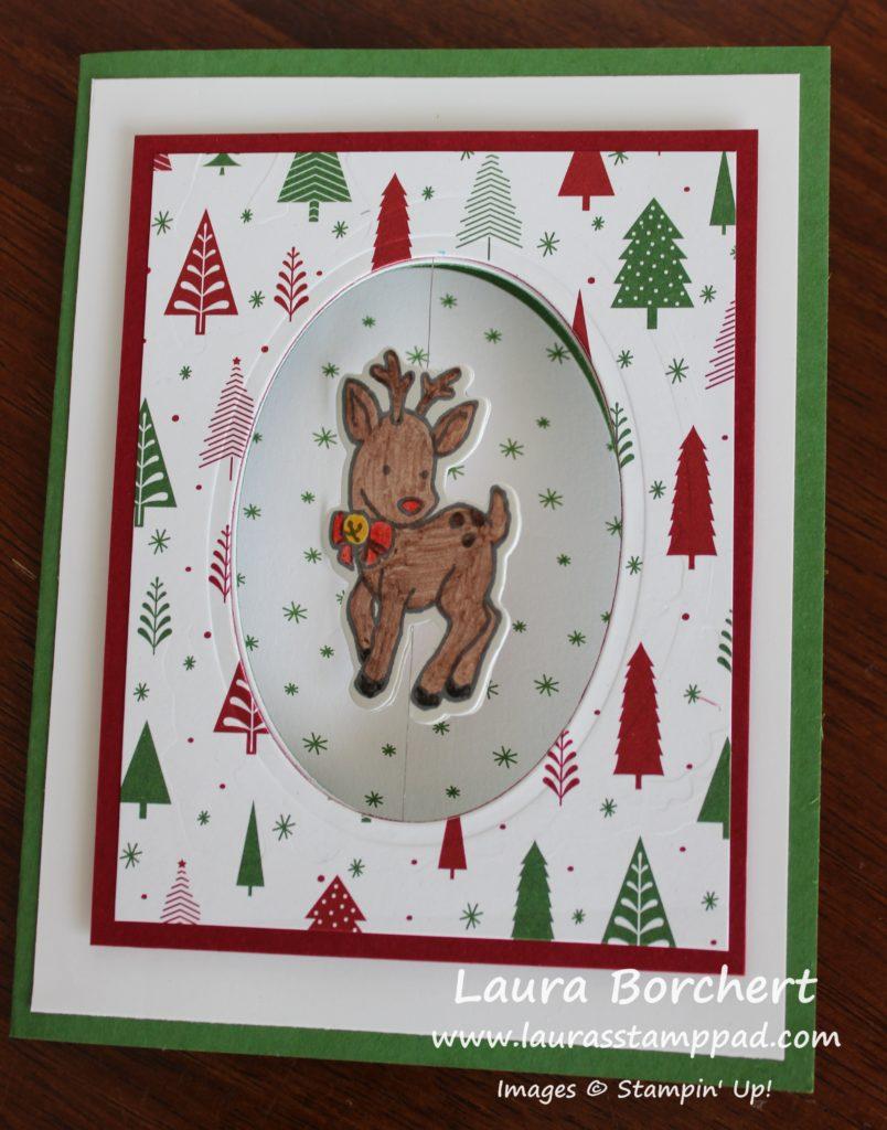 Spinner Card, www.LaurasStampPad.com
