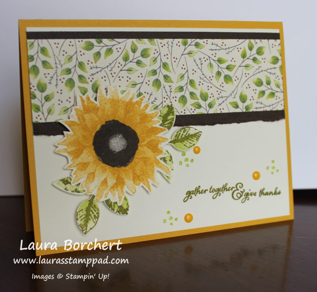 Gather Together & Give Thanks, www.LaurasStampPad.com