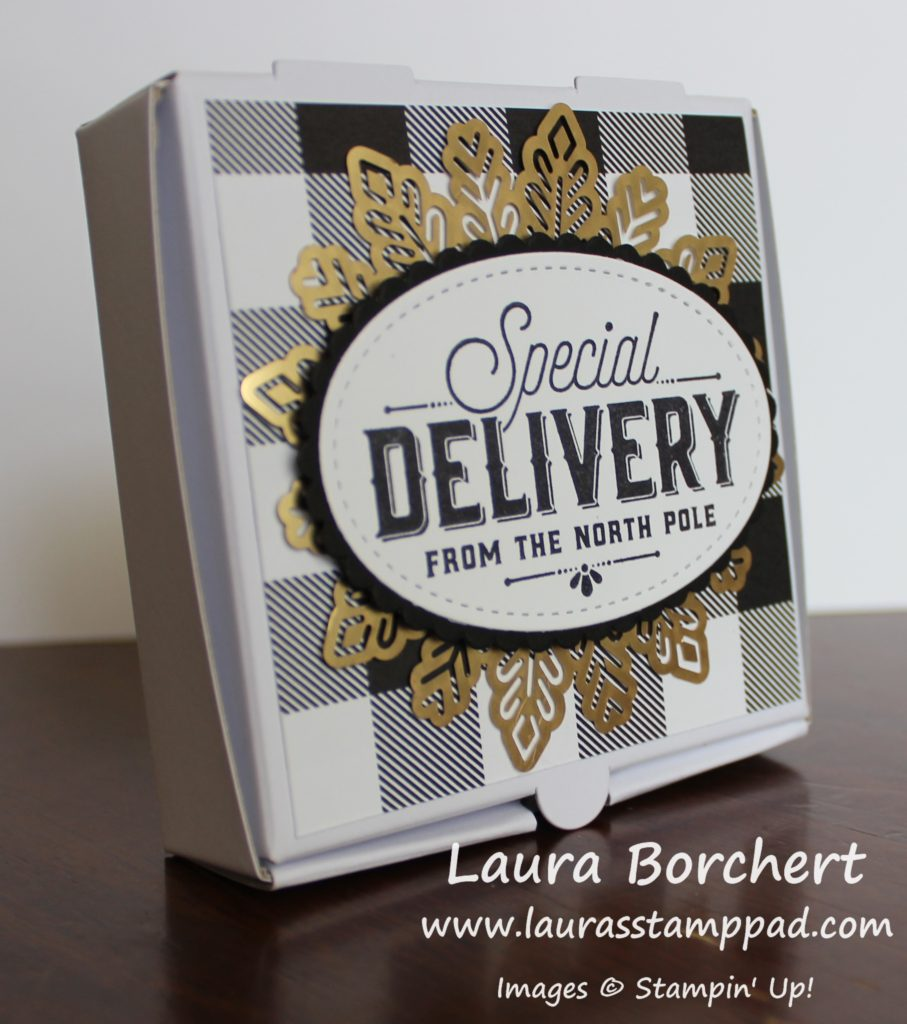 Mini Pizza Boxes, www.LaurasStampPad.com