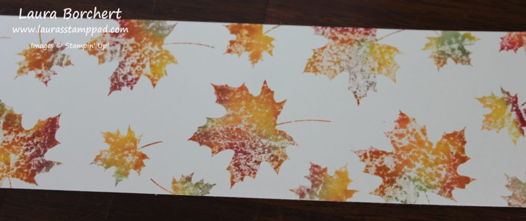 Multi-Colored Leaves, www.LaurasStampPad.com