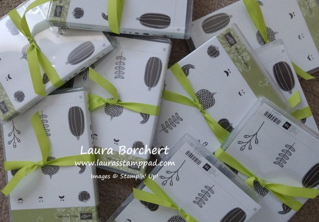 Pick a Pumpkin Free Stamp Set, www.LaurasStampPad.com