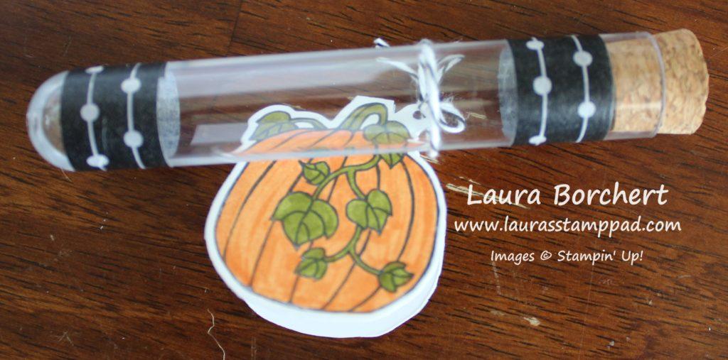 Pumpkin Tag, www.LaurasStampPad.com