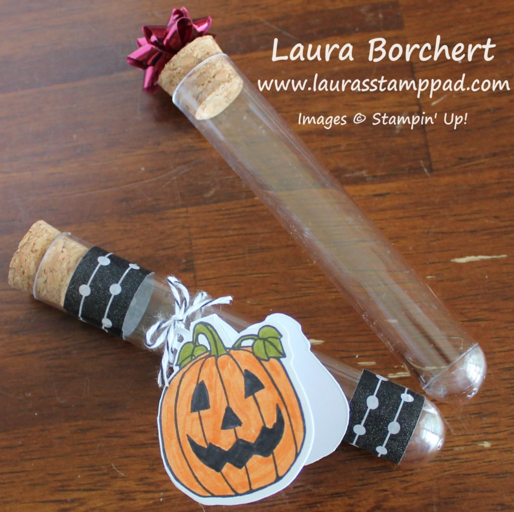 Treat Tubes, www.LaurasStampPad.com