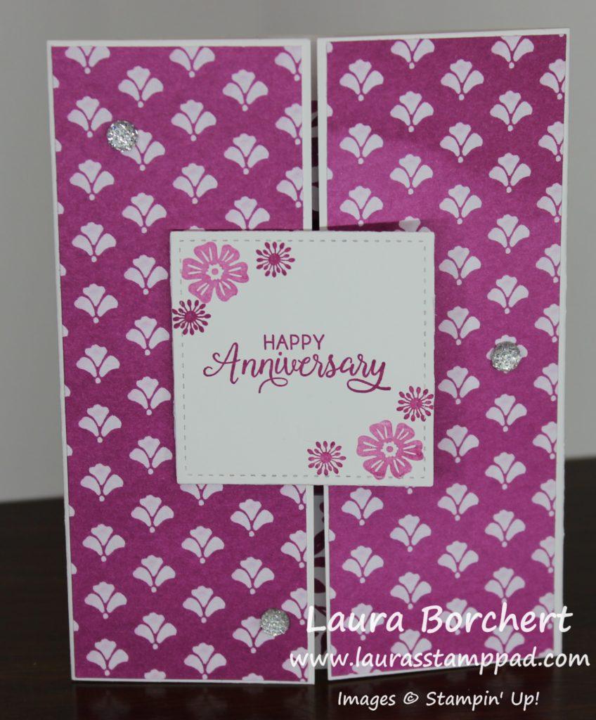 Anniversary Shutter Card, www.LaurasStampPad.com
