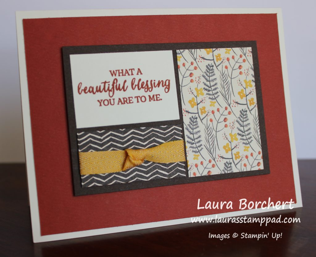 Perfect Fall Card, www.LaurasStampPad.com