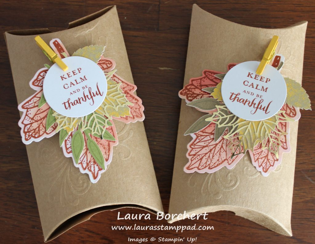 Fall Treat Boxes, www.LaurasStampPad.com