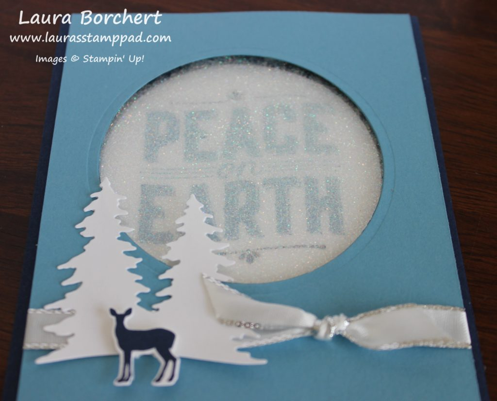 Glitter Peek-A-Boo, www.LaurasStampPad.com