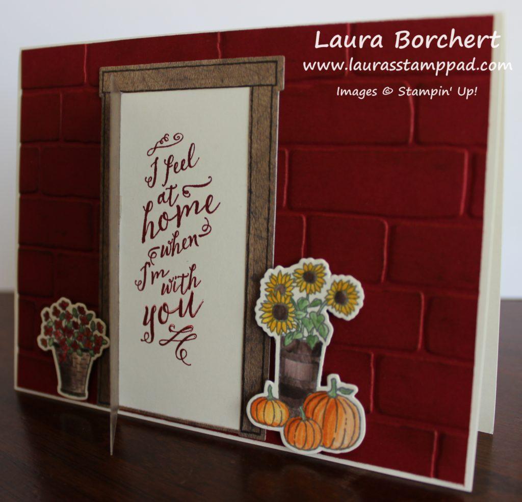 Inside Front Door, www.LaurasStampPad.com