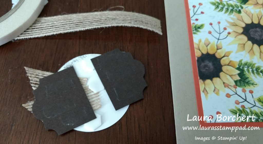Layering a Greeting, www.LaurasStampPad.com