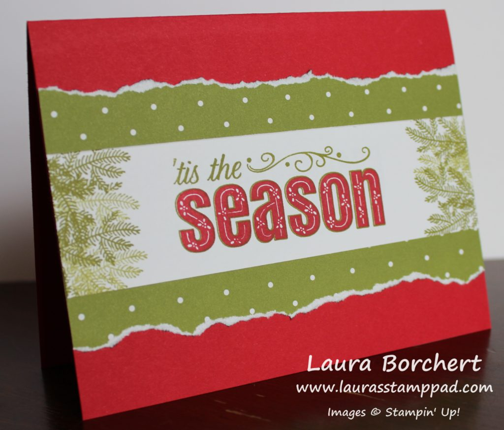 Tis The Season, www.LaurasStampPad.com