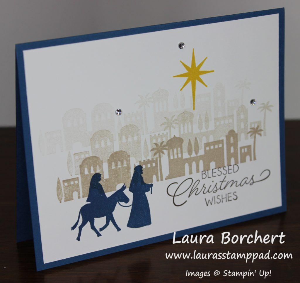Bethlehem Card, www.LaurasStampPad.com