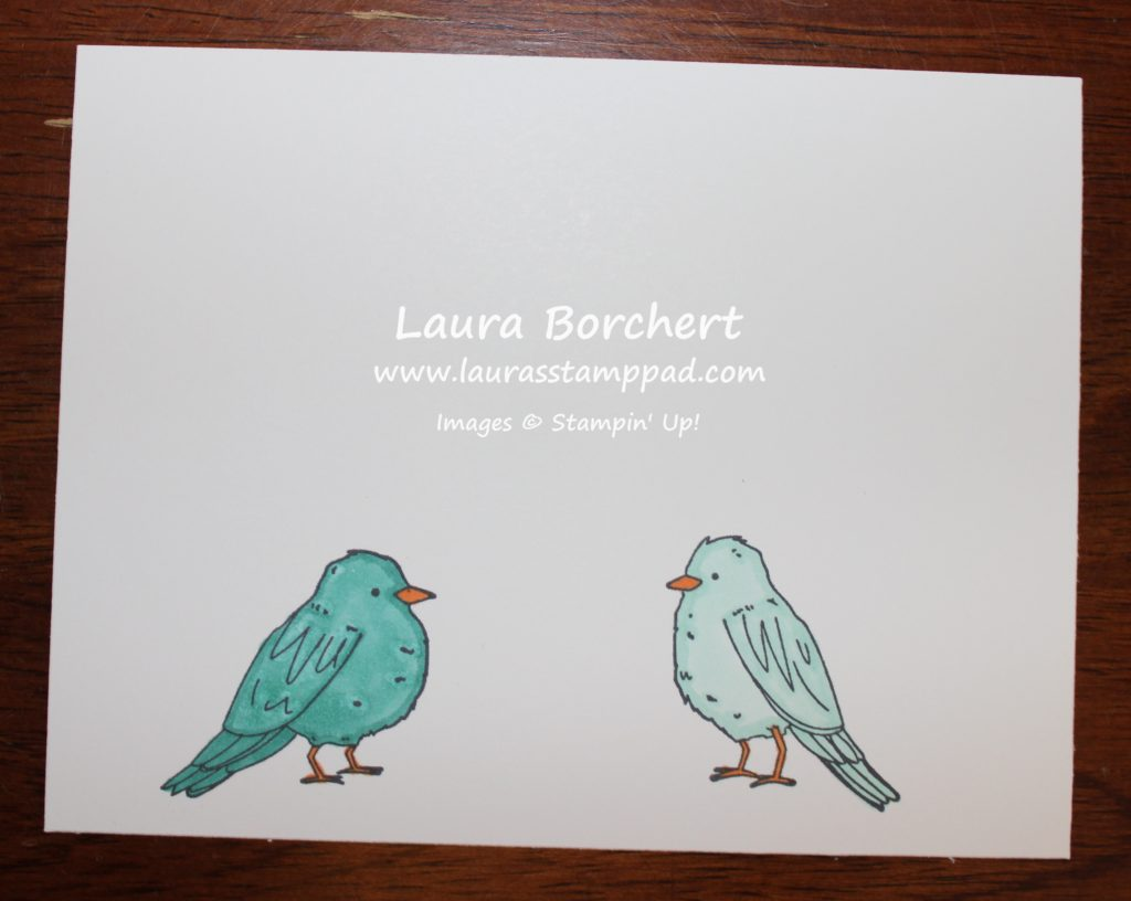 Birdie Blends, www.LaurasStampPad.com