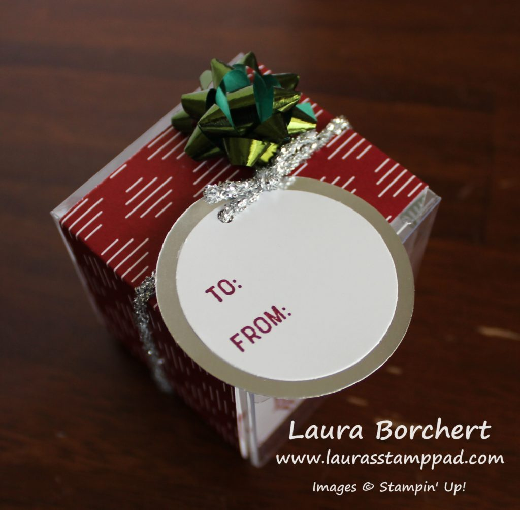 Tiny Treat Boxes, www.LaurasStampPad.com